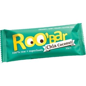 Roo Bar Rohkostriegel Chia Coconut