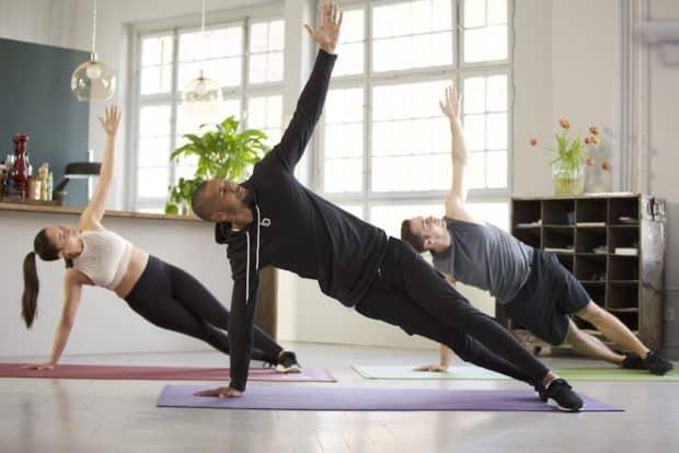 Side Plank für eine starke Körpermitte