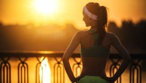 Sport am Abend oder am MorgenP