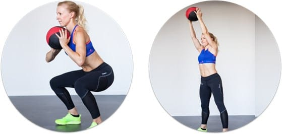 squat-overhead-press-medizinball